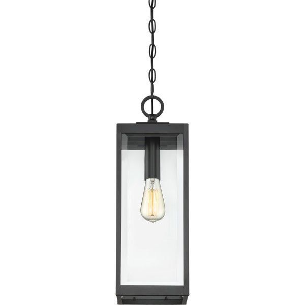 Motion Sensor 14 High Antique Bronze Outdoor Hanging Light 129