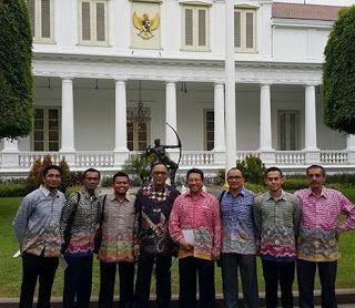 Isnan Ali dan Fahreza Bersama Manajemen MFC Di Undang Presiden | Martapura Football Club