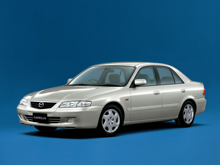 Mazda Capella Sedan (US + Japan) - 1998