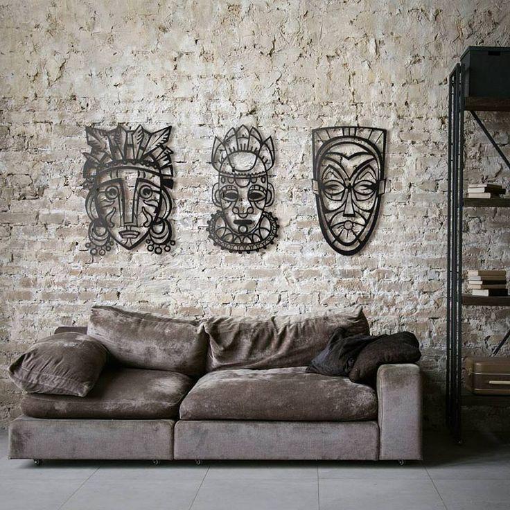 les 209 meilleures images du tableau d coration murale m tal artwall and co sur pinterest. Black Bedroom Furniture Sets. Home Design Ideas