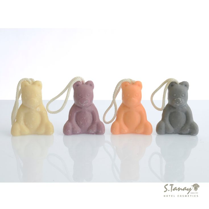 Bear form Soaps | Tanay Guest Amenities #hotel #guest #amenities #soap #shampoo #showergel #istanbul #otel #buklet