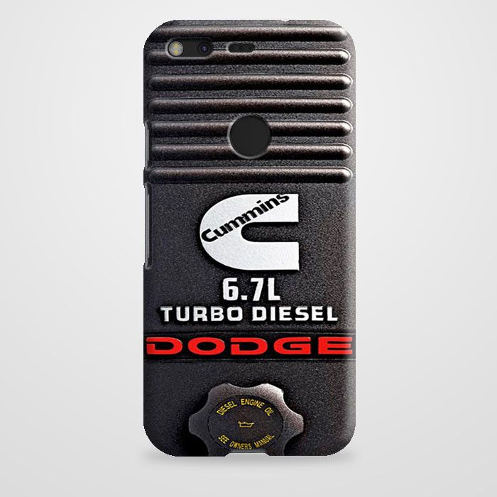 Dodge Cummins Turbo Diesel case provides a protective yet stylish shield between your Google Pixel and accidental bumps, drops, and scratches. Features slim and lightweight profile, precise cutouts, a