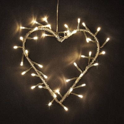 fairy light wreath