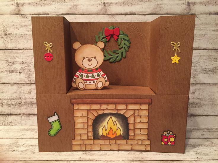 1278 besten weihnachtskarten bilder auf pinterest. Black Bedroom Furniture Sets. Home Design Ideas
