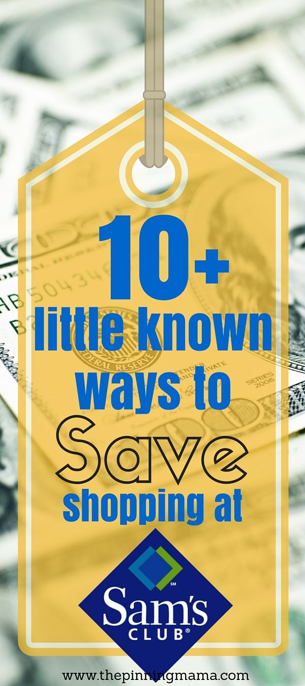 I didn't know half of these and I always shop there!!!  10+ Ways to Save up to $100 Shopping at @samsclub! My new years resolution is to plan better and save money so this was very helpful!!  #fullhomehappyhome AD