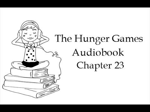 The Hunger Games. Book 1, Chapter 23. Audiobook in English with subtitles (unabridged). Listening skills training.   #tefl
