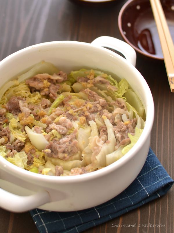 白菜と豚肉の鍋蒸し by 西山京子/ちょりママ | レシピサイト「Nadia ...