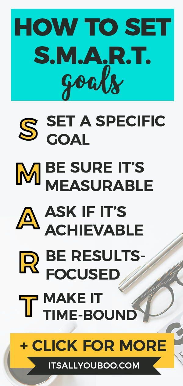 Examples of Smart Goals and How to Make Them | Life Goals +