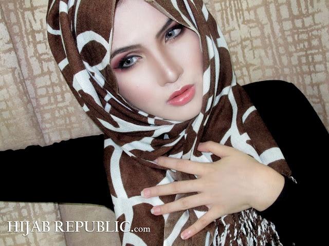 Stunning hijab