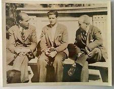 Joseph Kennedy Jr. in Madrid Spain with Arturo Cardona vintage press photo 1939
