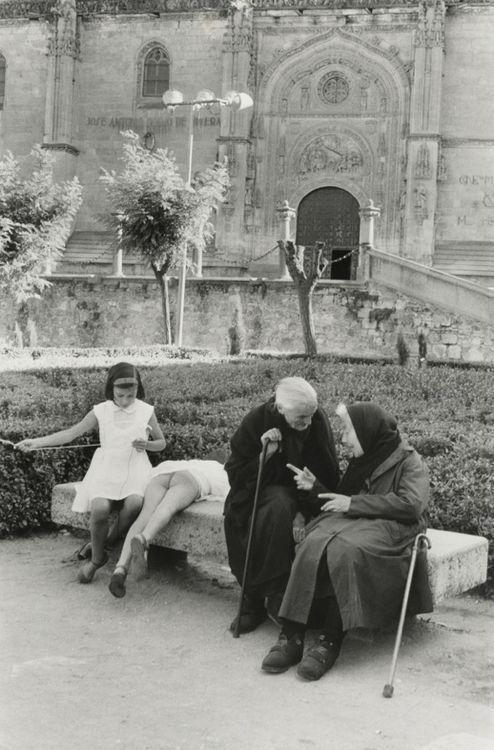 Henri Cartier-Bresson. Salamanca, Spain 1963