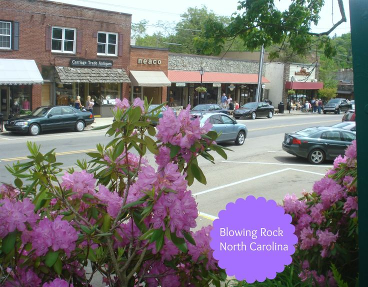 Downtown Blowing Rock, NC