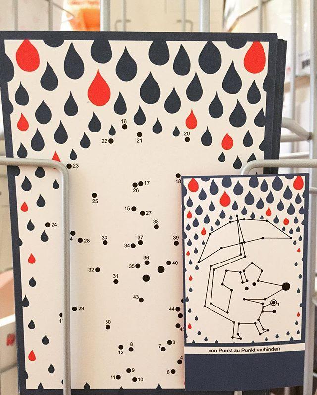 Ob Es Wohl Dieses Wochenende Wieder Regnen Wird Wenn Ja Dann Verbinde Doch Die Zahlen Auf Der Postkarte Miteinander Dan Postkarten Karten Malen Nach Zahlen