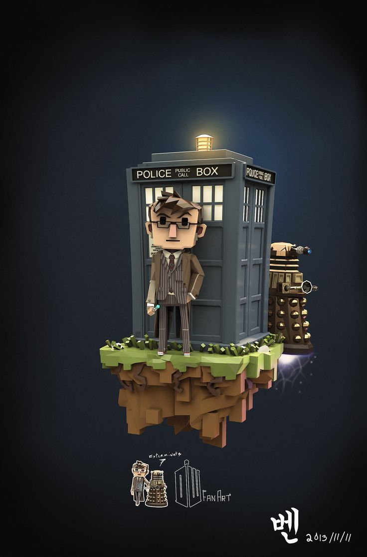 DoctorWho FanArt on Behance