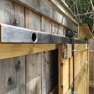 Heavy Duty Sliding Door Hardware Barn Making Barn Doors Barn Door Hardware Interior Barn Doors