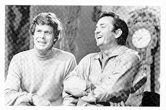 Johnny Cash's TV ABC Shows No.1Cowboy Buckaroo ( Duet With Doug McClure ) Taped At The Ryman Auditorium, Nashville Tenn.