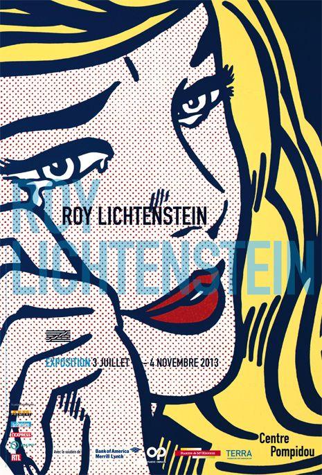 Rétrospective Roy Lichtenstein au Centre Pompidou