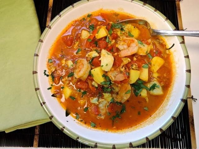 The Briny Lemon: Peruvian Seafood Stew