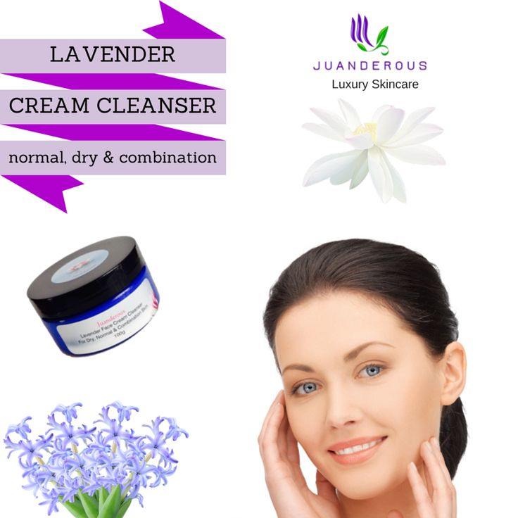 Lavender Cream Cleanser - Dry, Normal to Combination Skin - Vegan Product $22.50 This cleanser contains the perfect blend of grapeseed, extra virgin olive and castor oils for the needs of dry, normal and combination skin types. This is the perfect cleanser for those that love high quality vegan products and have acne prone skin. Scented with lavender and peppermint essential oils, which both have amazing anti -bacterial properties.
