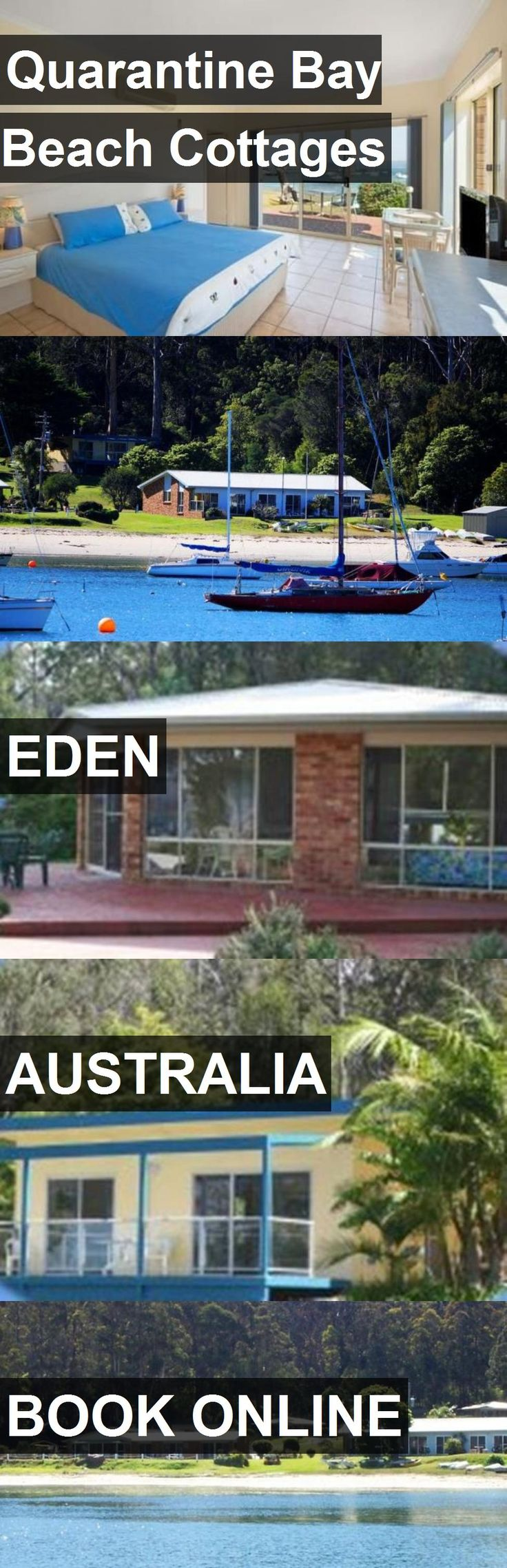 Hotel Quarantine Bay Beach Cottages in Eden, Australia. For more information, photos, reviews and best prices please follow the link. #Australia #Eden #hotel #travel #vacation