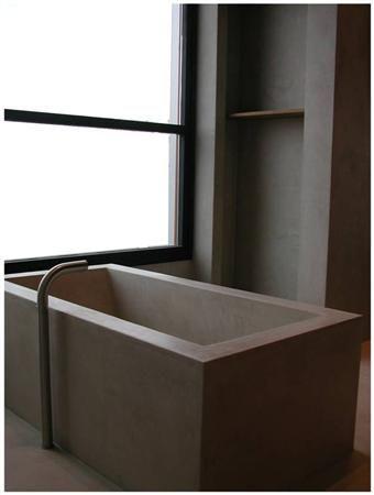 Mooi inspiratiebeeld tadelakt  Interesse in tadelakt, betoncire mortex? www.molitli.nl www.betonlookdesign.nl