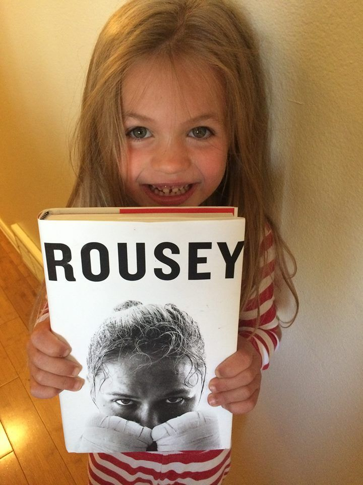 Her fight our fight, the day we met Ronda Rousey: SLPMommyofApraxia