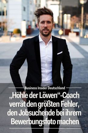 Höhle Der Löwen Coach Verrät Den Größten Fehler Den Jobsuchende