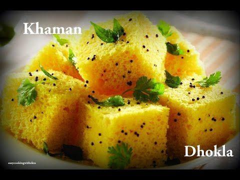 Dhokla Recipe In Hindi- Easycookingwithekta-Soft and Spongy Dhokla-Khaman Dhokla-Besan Dhokla - YouTube
