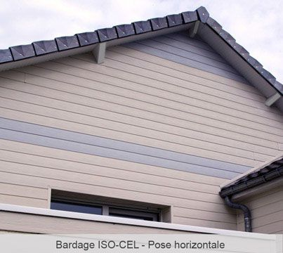 7 best Bardage ISOCEL images on Pinterest Panelling and My house - pose de lambris pvc exterieur