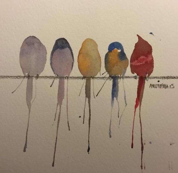Beautiful Watercolor Paintings by Awaisha