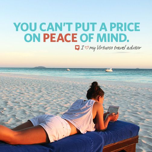 Connect with a Virtuoso travel advisor on www.virtuoso.com.