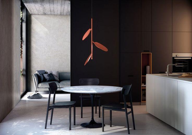 Fabien Dumas est né en 1976 à Fort de France, diplômé en 2003 de l'École des Beaux Arts de Berlin, il crée ensuite son studio TooManyDesigners. Il vient de rejoindre le répertoire du fabricant d'éclairage B.lux avec la création de la collection a_Forest.  Disponible en une version applique murale et deux suspensions différentes, a_Forest s'inspire de la Polynésie et de sa flore tropicale luxuriante. Bien que Fabien Dumas soit aujourd'hui basé à Berlin, son enfance en Polynésie, les…