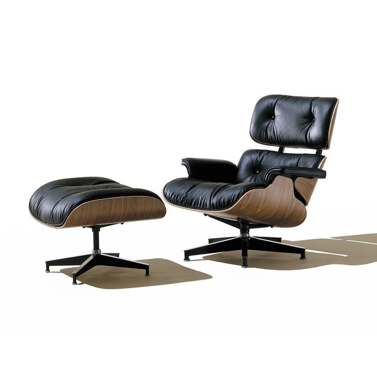 Herman Miller Eames Lounge Chair ES670 and ES671 | SmartFurniture.com: Eames Chairs, Miller Eames, Lounges, Living Room, Mid Century, Ottomans, Furniture, Eames Lounge Chairs, Herman Miller
