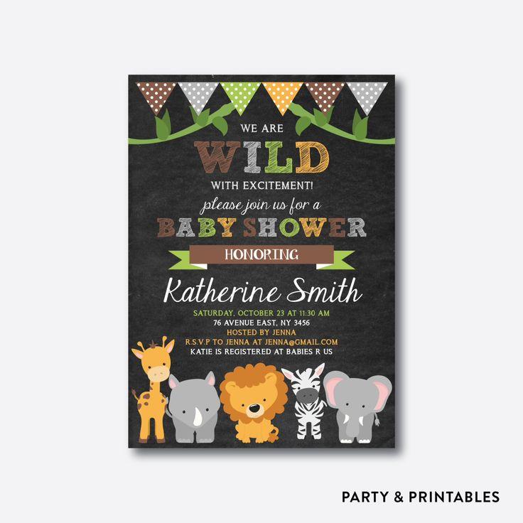 safari baby shower invitation safari invitation jungle baby shower