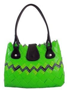 borsa verde Ecochic