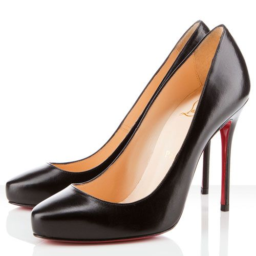 Christian Louboutin Elisa 100mm Pumps Black. The most perfect heels in the world.