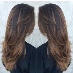 awesome Обаятельная стрижка лесенка на длинные волосы с челкой и без (50 фото)…