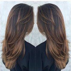 Женские стрижки в картинках на средние волосы 8