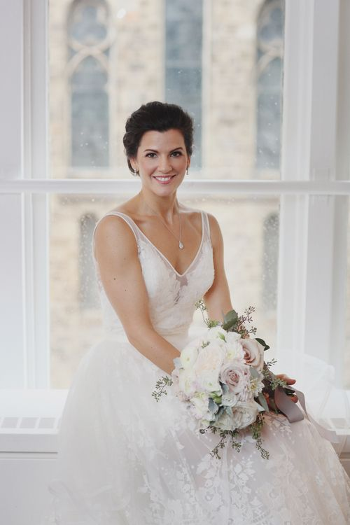 Jessica & Mark's Love Story up on our website. Jessica looks stunning in her Conrad gown by Hayley Paige available at Pearl Bridal House.  Photography by: E. Photography