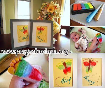 Atividades para maternal, creche e berçário: artes com tinta
