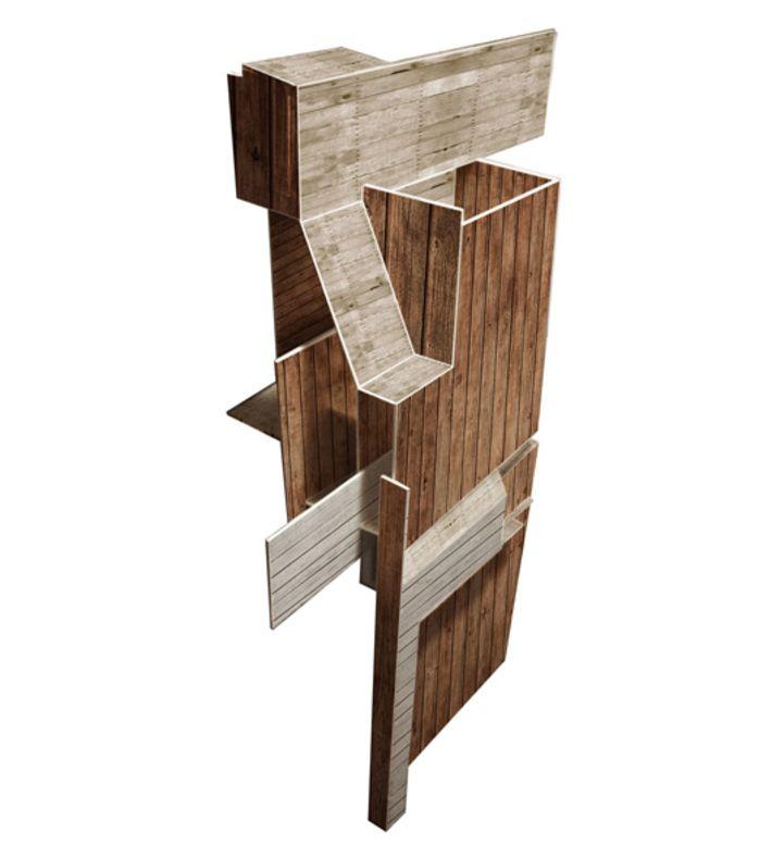 "Title: ""woodhouse 2"". Size: A3. You can buy this piece at www.artrebels.com #artrebels #art #digitalprints"