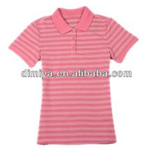 2013 new design fashion pink striped ladies polo shirt  best buy follow this link http://shopingayo.space