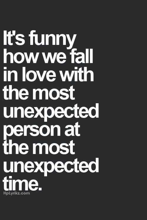 Quotes About Falling In Love: Funny Thing About Falling In Love