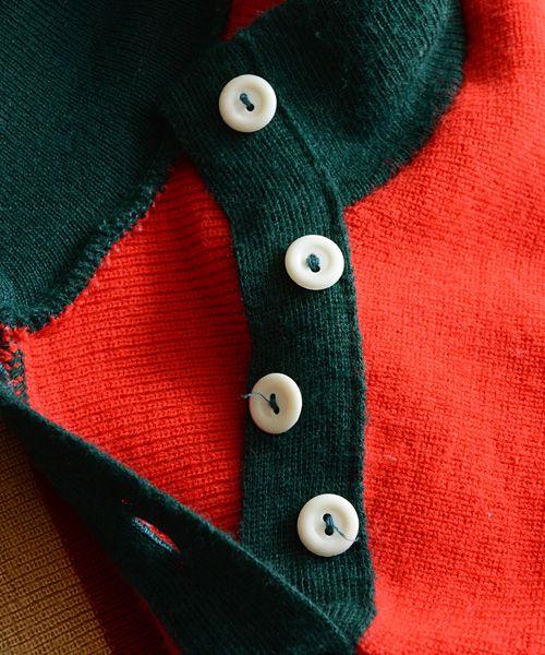 福島市の古着屋 Clothing and more FUNS BLOG: マルチカラー ニット セーター ヴィンテージ 70~80年代 ドイツ   FUNS