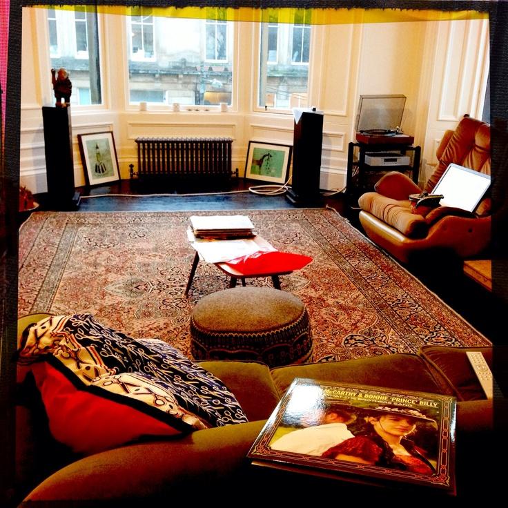 Lounge Hifi vinyl recoil radiators linn Hifi glasgow