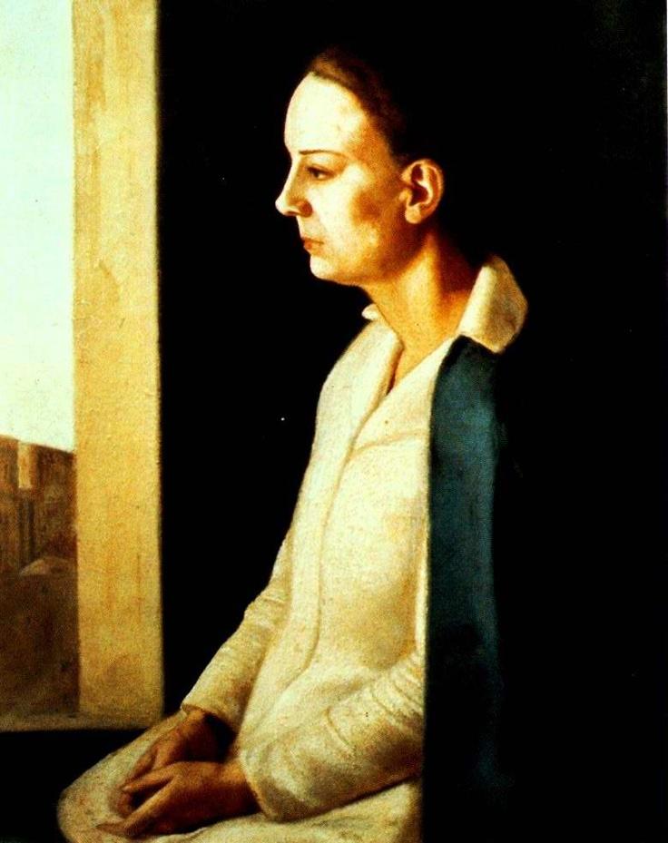 virgilio guidi, ritratto di laura, 1922