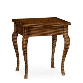 Malpas Table Fluted Bamboo Jonathan Charles 530070 Gfa