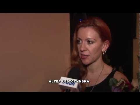 TV interview with Altea Leszczynska