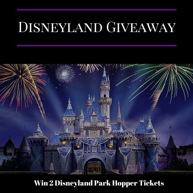 Global Munchkins is hosting a giveaway.  You could win 2 Disneyland Park Hopper Tickets.  See link for entry details and rules
