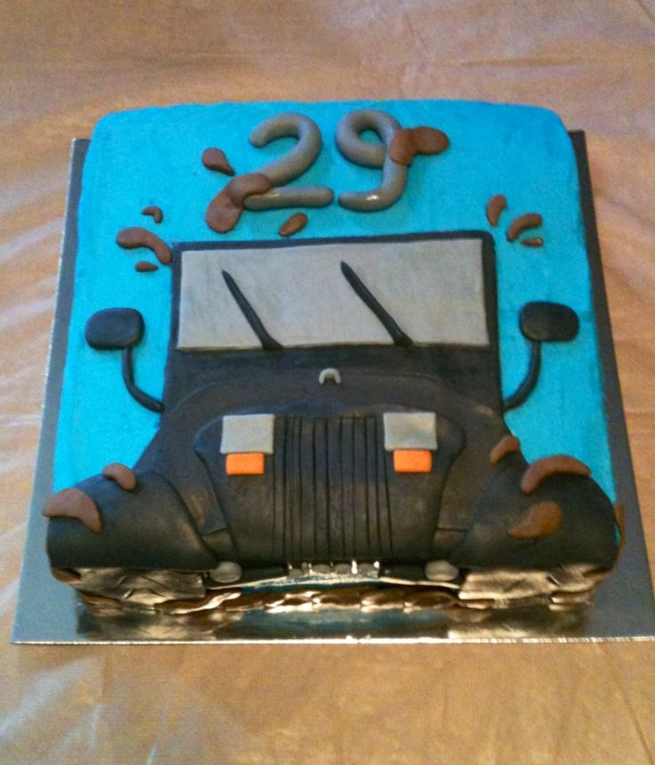 Jeep Birthday Cake Images : 1000+ ideas about Jeep Cake on Pinterest Car Cakes ...